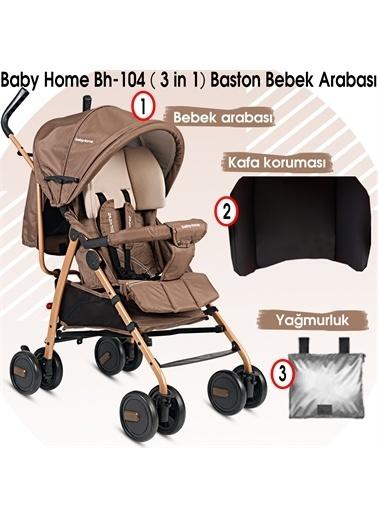 Baby Home Baby Home Bh-104 Black Tam Yatar Baston Bebek Arabası Renkli